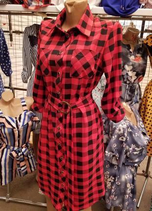 Платье - рубашка.