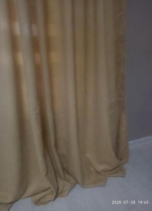 Новые шторы из микровелюра.3 фото