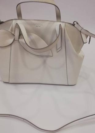 Белая сумка tosca blu