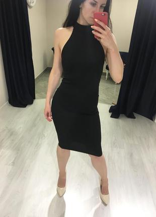 Класична чорна сукня zara