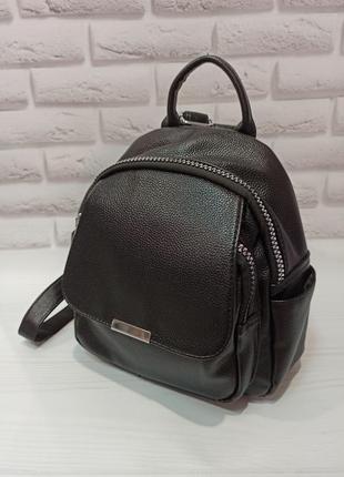 Рюкзак молодежный черный