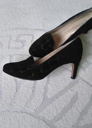 Туфлі оригінал кожа