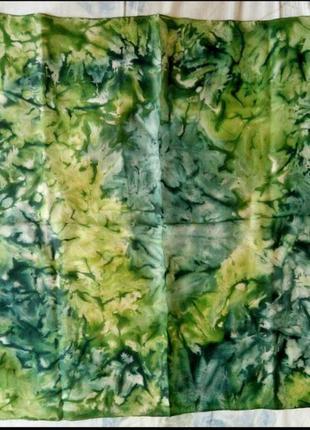 Платок шейный шелк батик