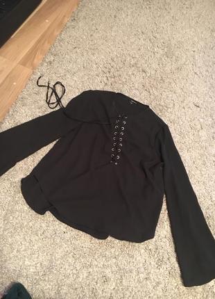 Блуза кофтинка