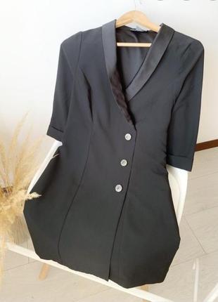 Платье пиджак,плаття піджак,блейзер,платье на запах