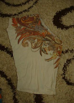 Блуза, футболка на одно плече bershka