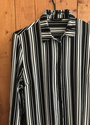 Шифоновое платье рубашка new look