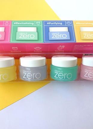 Очищающие бальзамы banila co clean it zero special kit