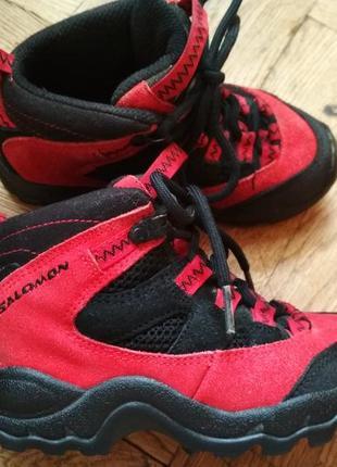 Термо ботинки salomon черевики сапоги кроссовки кросівки