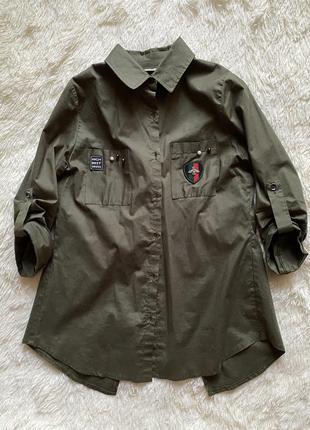 Рубашка оверсайз (oversize)