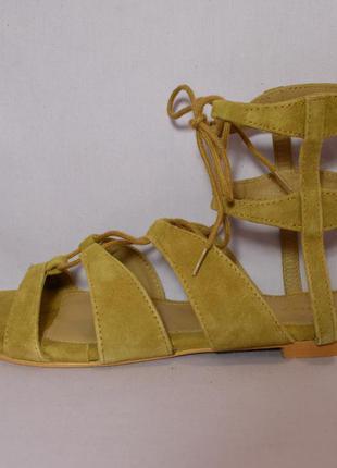 """Р38 """"vero moda"""", дания, натуральная кожа! эксклюзив!стильные,комфортные босоножки сандалии"""