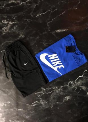 Спортивный летный костюм nike футболка + шорты nike ( найк )