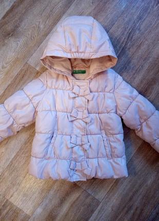 Деми курточка с милыми бантиками
