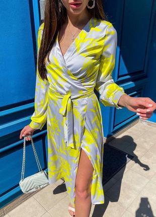 Платье шелк армани люкс качества s