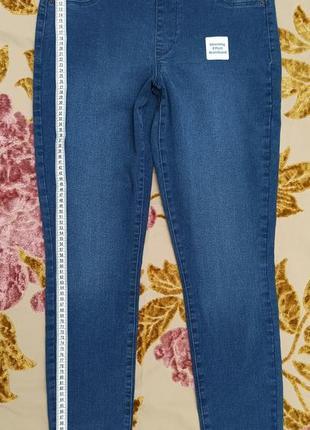 Джеггинсы  джинсовые женские супер обтягивающие, размер 10 long, с сайта oldnavy