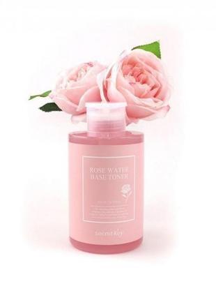 Тонер на основе розовой воды