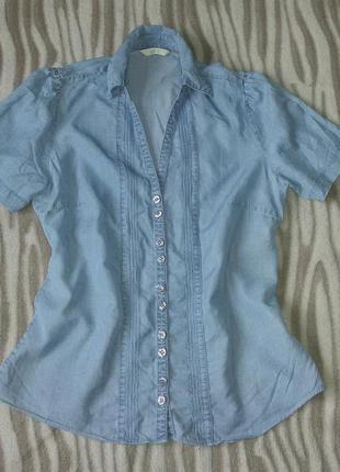 Рубашка блузка под джинс marks&spencer