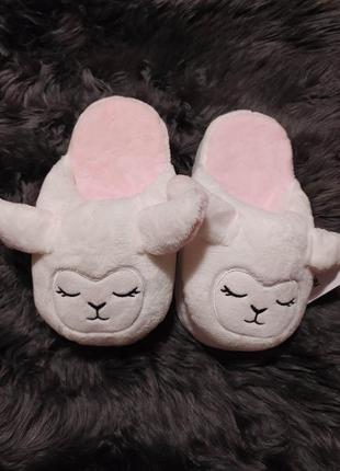 Тапочки - овечки новые, размер - 36-38.