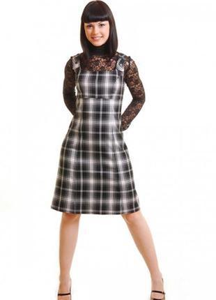 Сарафан,платье в клетку от amisu