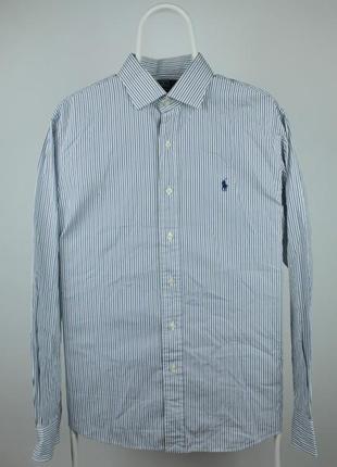 Стильная оригинальная рубашка ralph lauren regent custom fit