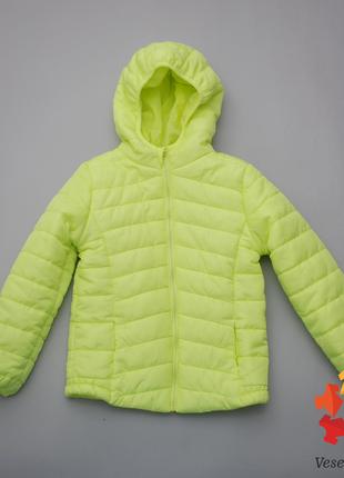 Куртка демисезонная ветровка для девочки стеганая pepco