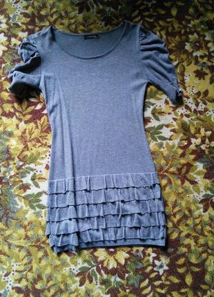 Тёплое платьице