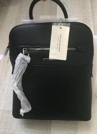 Рюкзак чёрный дэвид джонс