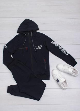 Спортивный костюм комплект кофта и штаны emporio armani