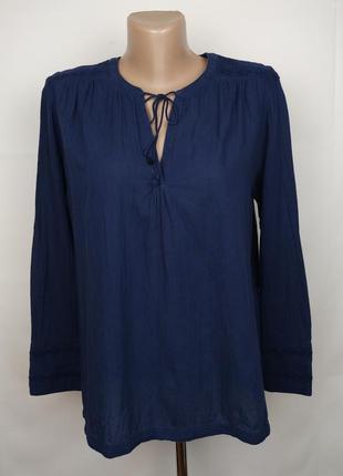 Блуза рубашка синяя красивая хлопковая оригинал! levis m