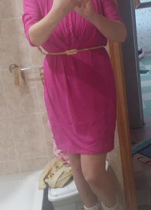 Нарядное платье яркого цвета