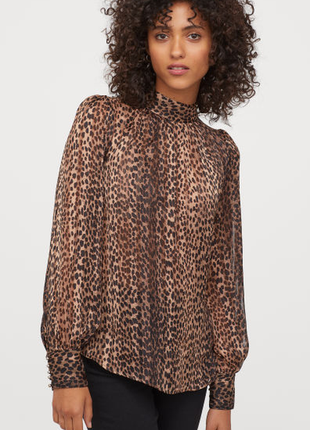Елегантна блуза з принтом