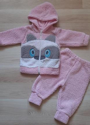 Тёплый костюм для девочки