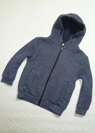 Трикотажная теплая куртка -пайта primark на 5-6 лет