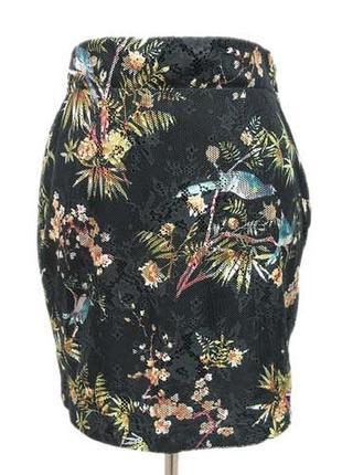 Оригинальная сетчатая юбка zara