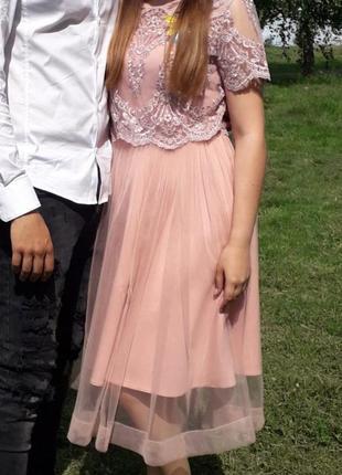 Вечернее платье gepur в хорошем состоянии
