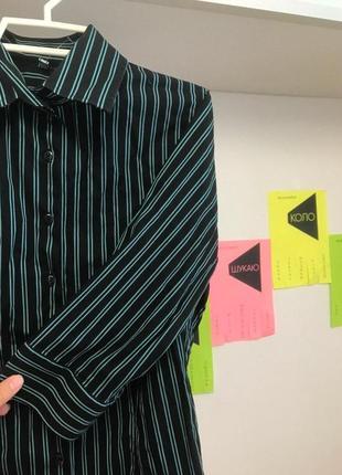 Рубашка со стойким воротником