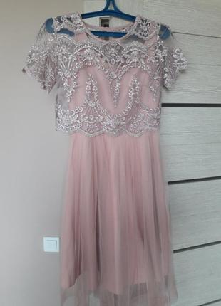 Вечернее платье gepur в хорошем состоянии5 фото