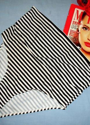 Низ от купальника раздельного трусики женск плавки размер 46-48 / 14 черные для беременных