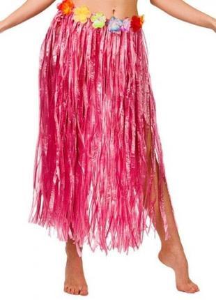 Юбка гавайская длина 75 см атрибут гавайской вечеринки