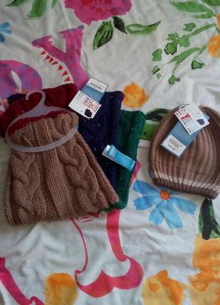 Набір шапка шарф від 2 до 8 років