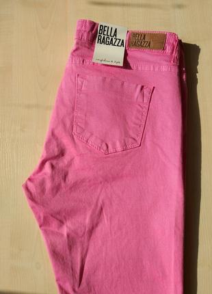 Розовые джинсы bella ragazza