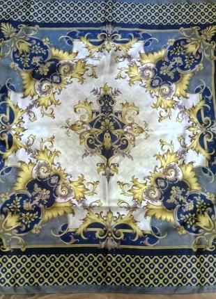 Винтажный шелковый платок d'este