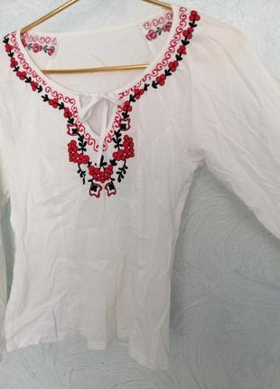 Блузка под вышиванку
