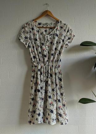 Платье сарафан в цветы colin's