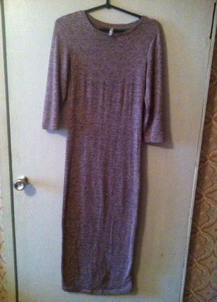 Идеальное платье-миди stradivarius