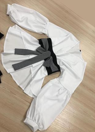 Шикарний нарядный костюм2 фото