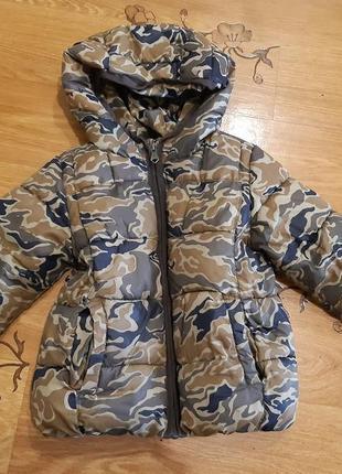 Куртка демисезонная zara куртка весна осень 2 года