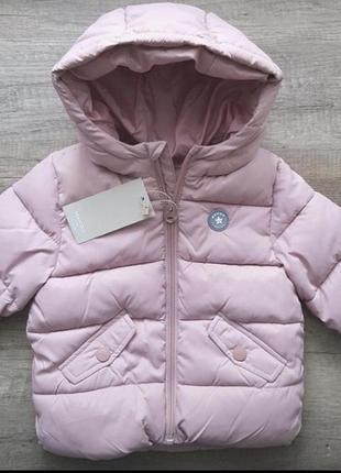 Новая нежно розовая куртка mango