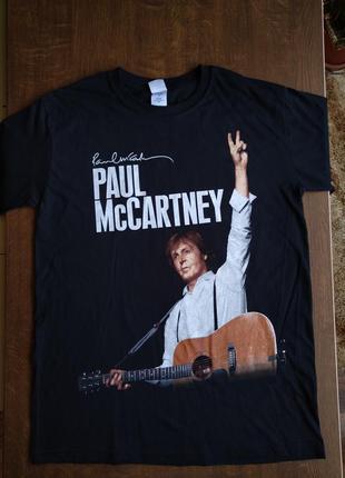 Мужская футболка paul mccartney merchandise