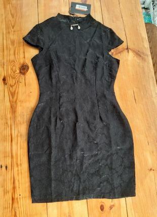 Маленькое чёрное платье prettylittlething в японском стиле